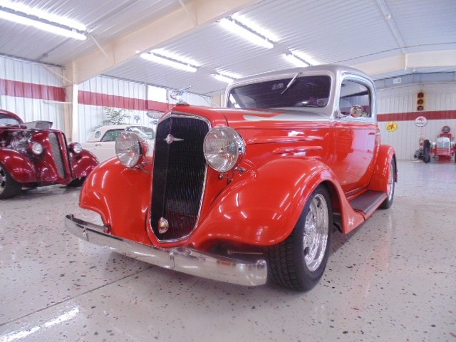 Hot Rod for Sale - 1935 Chevrolet 3 Window Coupe