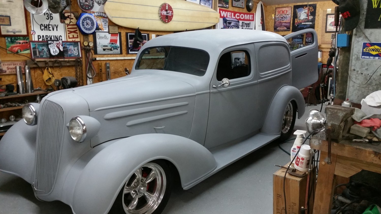 Hot Rod for Sale - 1936 Chevrolet Sedan Delivery