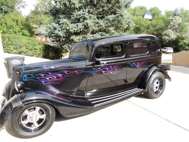 Hot Rod for Sale - 1933 Ford Model 40 Deluxe