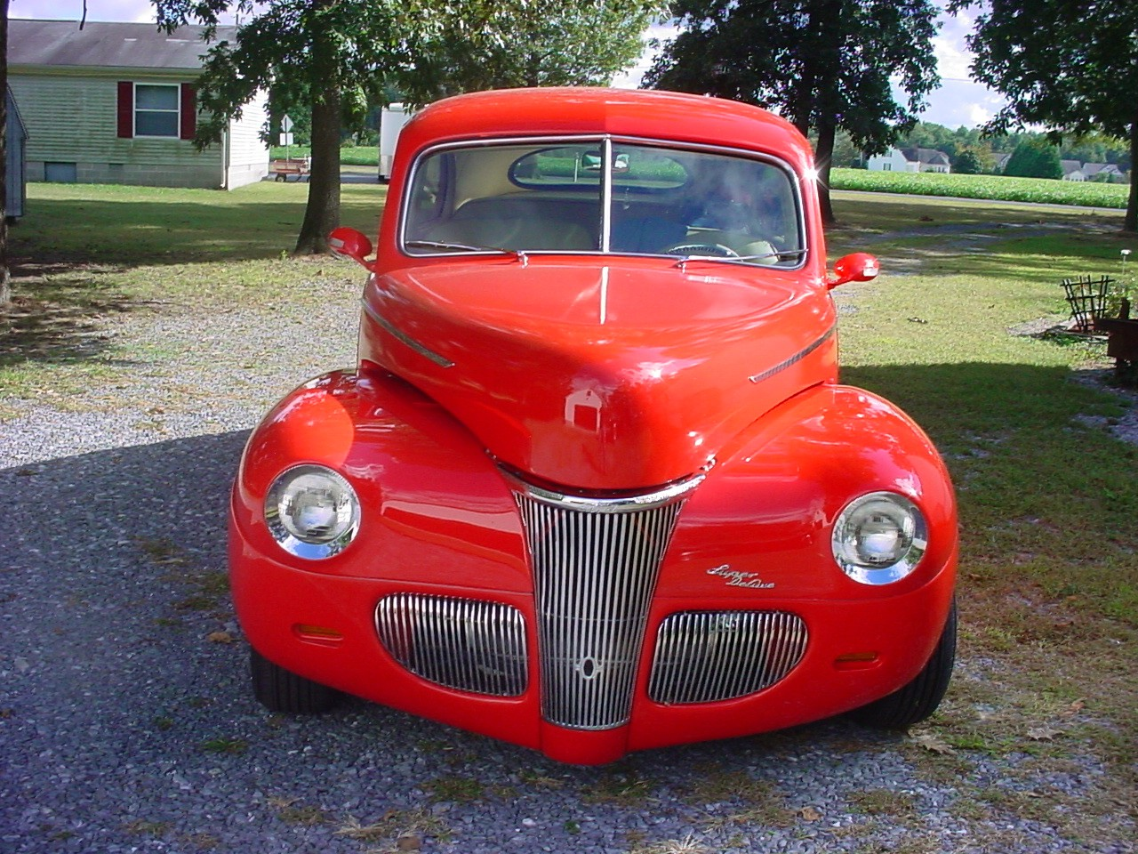 Classic Hot Rods For Sale And Street 1941 Ford Coupe Red Tudor